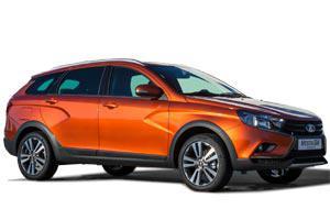 Цена на новый автомобиль Lada Vesta 1.6 (106 л.с.) SW Cross универсал 834 900 руб. в Москве