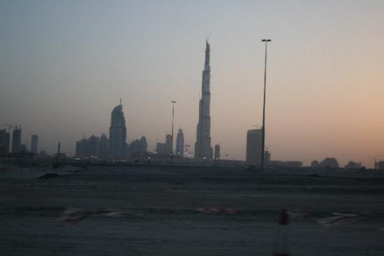 Самое высокое здание Дубая