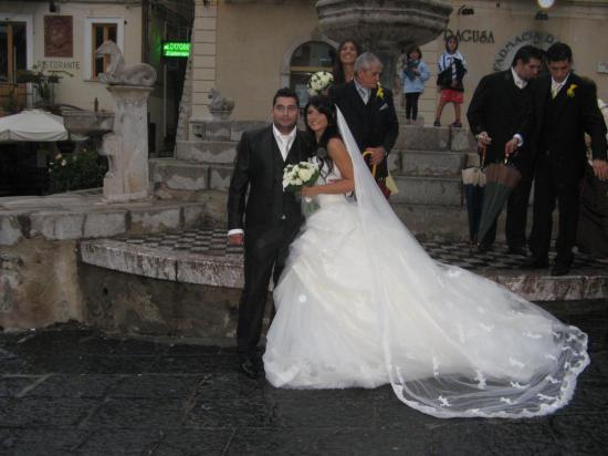 Стали свидетелями очень красивой сицилийской свадьбы