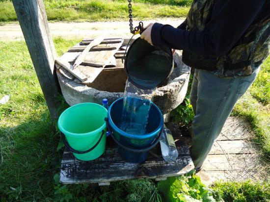 Пополнили запасы воды и отправились в путь-до Огибного