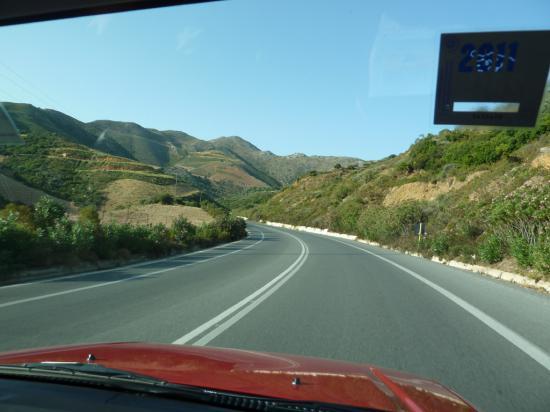 дорога до Ретимно
