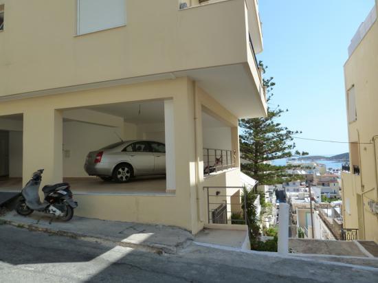 парковка под домом