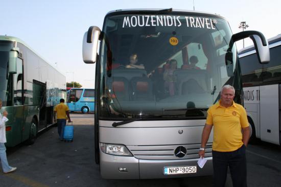 Автобус нашего туроператора