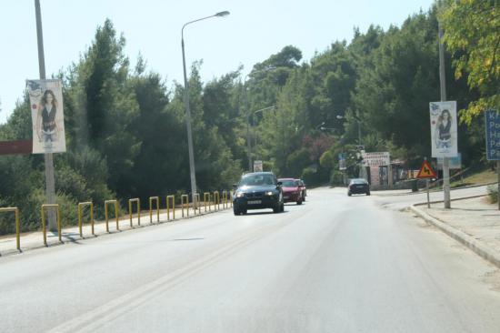 Дорога на Капитеа - едем левому берегу Кассандры