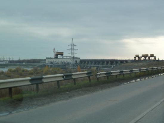 сама Горьковская ГЭС