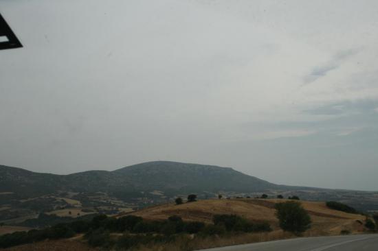 Красивый вид на пути в Петролана
