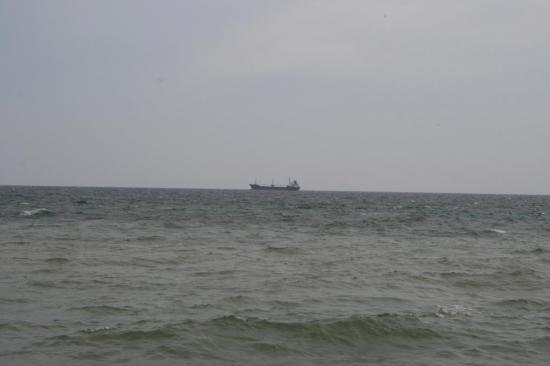 Танкер в открытом море