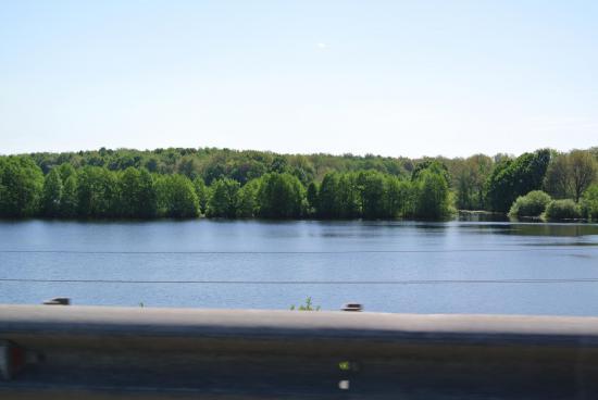 Весенний разлив реки Волги