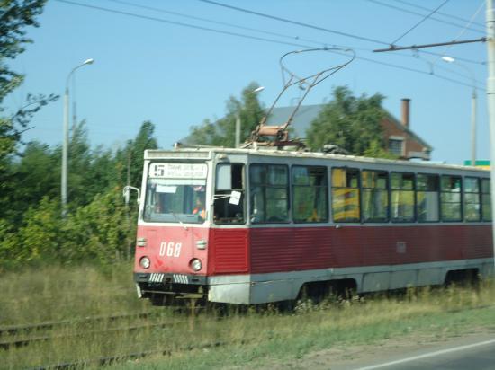Появился первый городской трамвай-значит подъезжаем к городу.