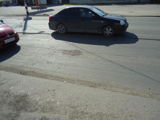 Дороги в Дзержинске