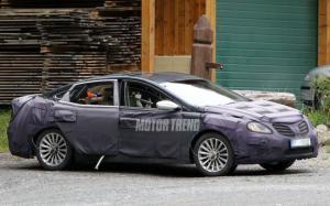 Фотошпионы опять поймали Hyundai Azera