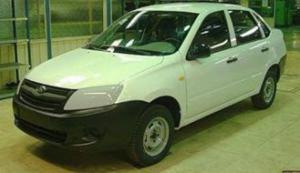 Фотошпионы  поймали в объективы Lada Granta