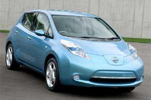 Новый чудо-мобиль Nissan Leaf уже в России