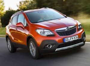Новый СМАРТ кроссовер Opel MOKKA в дилерском     центре «Луидор-Авто».
