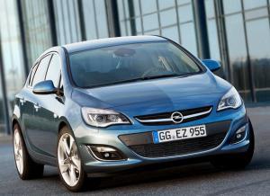 Автомобили Opel Astra получили 170-сильный турбодвигатель