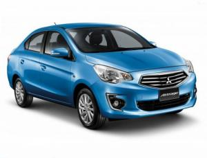 Бюджетный седан Mitsubishi Attrage готов к продажам