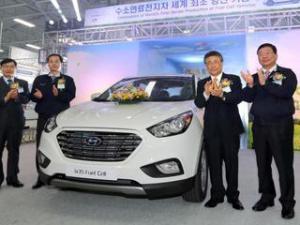 """Hyundai Tucson станет серийным """"водородным"""" автомобилем"""