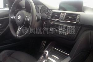 Фотошпионы попали в салон нового BMW M3