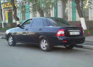 Продажи Lada Priora с предпусковым подогревателем от 384 000 рублей