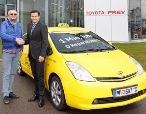 Венский таксист проехал на Toyota Prius 1 млн. км