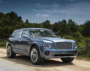 В РФ стартовал прием заказов на Bentley Bentayga