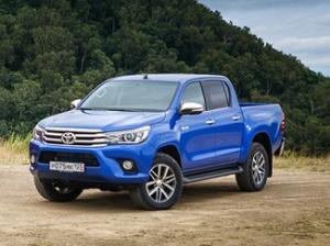 Стартовали российские продажи Toyota Hilux от 1 499 000 рублей