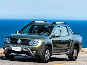 Серийный пикап Renault Duster Oroch 2016 года, характеристики, фото и цены