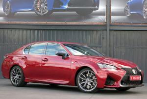 Фото и цена  Lexus GS F 2016-2017 года
