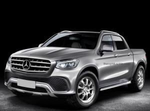 1 октября в Париже представят пикап Mercedes-Benz X-Class