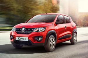 Renault Kwid получит литровый мотор, работающий с