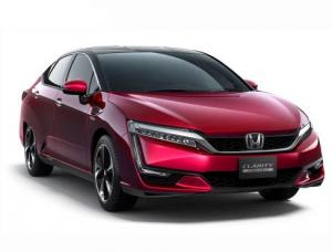 Стартовали продажи серийного Honda Clarity Fuel Cell с водородным двигателем