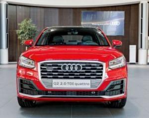 Audi Q2 можно потрогать руками в Audi Forum Neckarslum