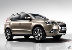 Цены на новый Geely Emgrand X7 стартуют от 769 000 рублей