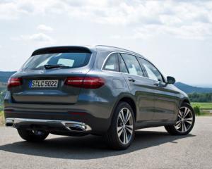 В Москве представят купе-кроссовер Mercedes-Benz GLC
