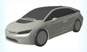 В Сети рассекретили внешний вид эко-купе BMW i5