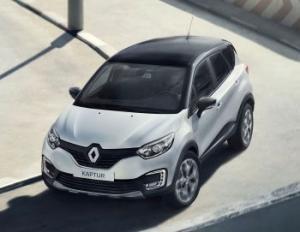 Renault Kaptur вошел в пятерку продаваемых кроссоверов