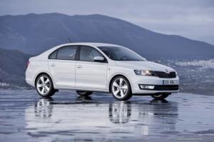 Skoda Rapid - самая популярная модель чешской компании в России