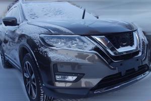 В Сети появились фото Nissan X-Trail нового поколения