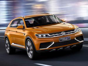 Весной представят электрический кроссовер Volkswagen EV