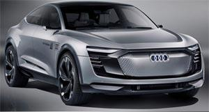 Электромобиль от Audi: автопилот, фитнес-трекер и три мотора