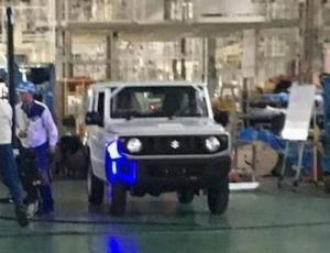 Шпионам удалось снять Suzuki Jimny 2018 года без камуфляжа