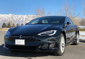 Создан самый быстрый пуленепробиваемый седан Tesla Model S P100D