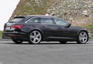 На испытаниях поймали новый Audi RS6 Avant