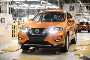 В Питере стартовал выпуск нового Nissan X-Trail