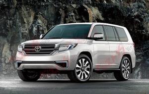 Осенью представят новый Toyota Land Cruiser 300