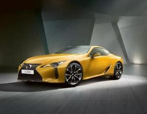 Стартовали продажи желтого Lexus LC 500 Yellow Edition от 8 285 000 рублей