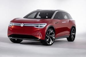 Немцы представили электрический кроссовер Volkswagen ID. ROOMZZ