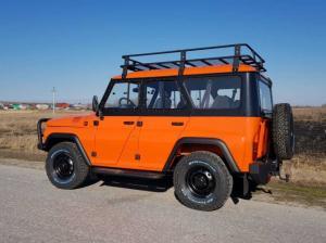 Стартовали продажи оранжевого УАЗа от 984 900 рублей