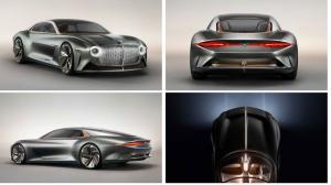 В честь 100 летнего юбилея Bentley показало концепт  EXP 100 GT