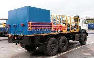Цементировочный агрегат КАМАЗ, УРАЛ: эксплуатация, устройство